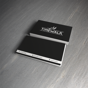 Timewalk Business card1