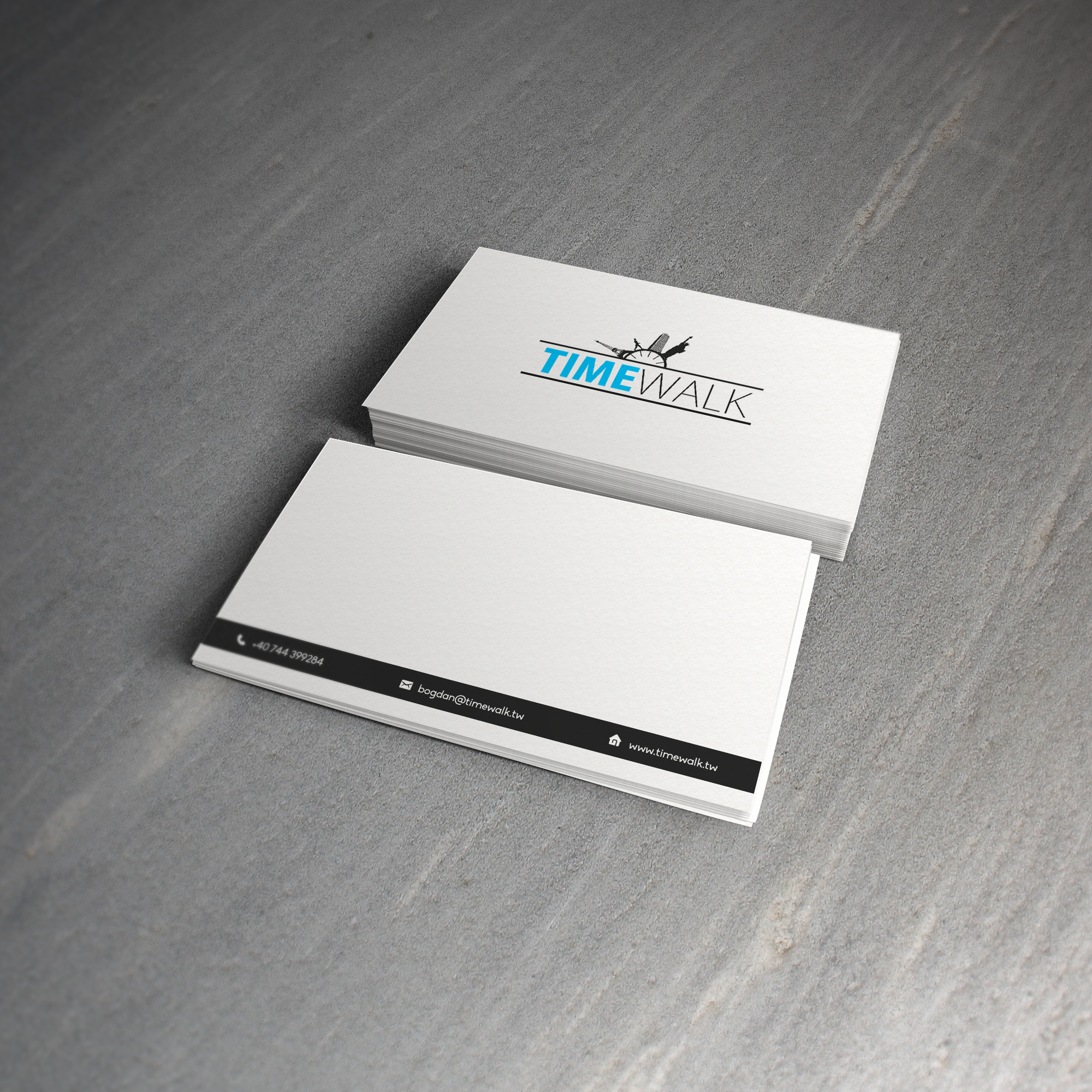 Timewalk Business card3