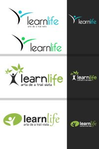 learn life logo proposals