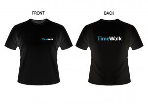 TimeWalk t-shirt